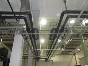 水管机房管道保温施工